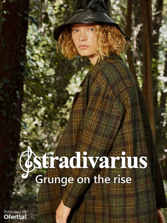 Ofertas de Stradivarius, Grunge on the rise