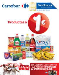 Productes a 1 €