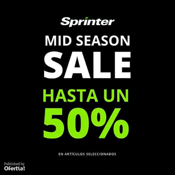 Ofertas de Sprinter, Mid Season Sale - hasta un 50%