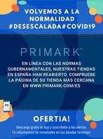 Ofertas de Primark, Nuestras tiendas han reabierto #Desescalada