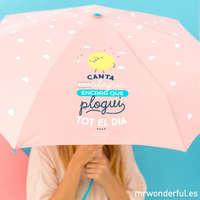 Paraguas para convertir un día lluvioso en maravilloso