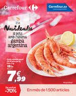 Ofertas de Carrefour, Ets Navideador si pots amb l'última gamba Argentina