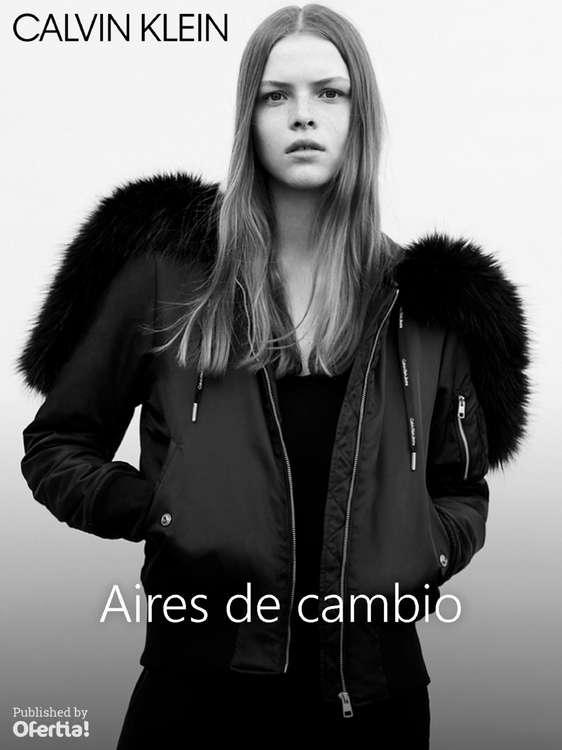 Ofertas de Calvin Klein, Aires de Cambio