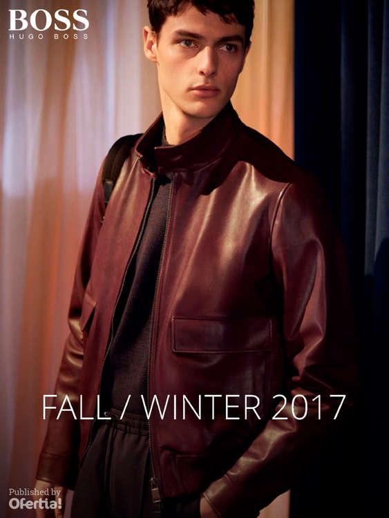 Ofertas de Hugo Boss, Fall Winter 2017
