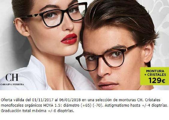 Ofertas de Óptica 2000, Montura + Cristales = 129€