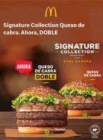 Ofertas de McDonald's, Signature Collection