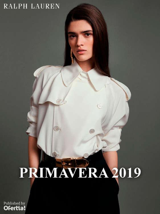 Ofertas de Ralph Lauren, Primavera 2019