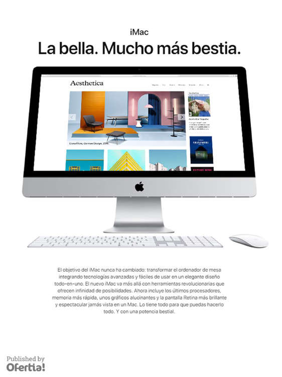 Ofertas de Apple Store, iMac