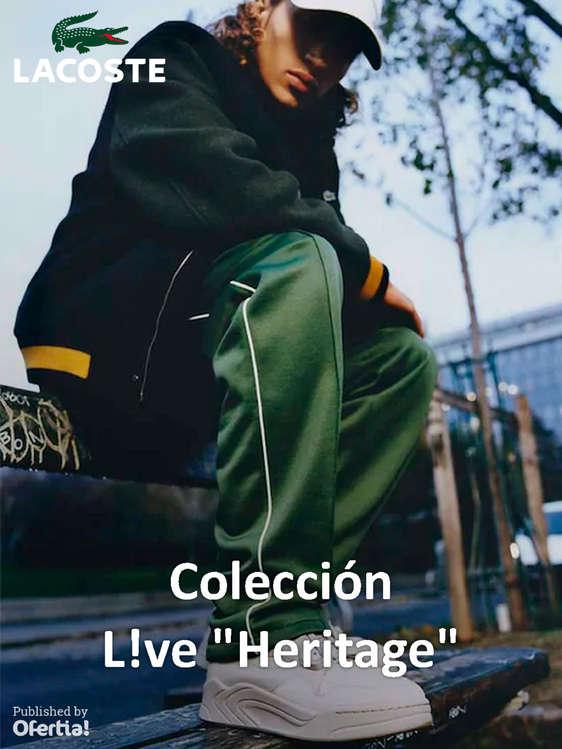 Ofertas de Lacoste, Colección L!ve Heritage