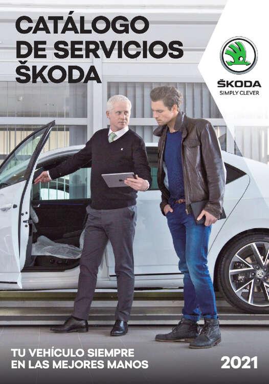 Ofertas de SKODA, Catálogo de Servicios Škoda 2021