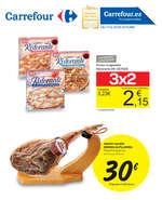 Ofertas de Carrefour, 3x2
