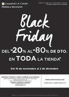 Ofertas de Camino A Casa, Black Friday