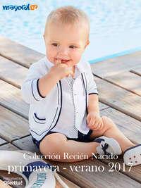 Colección Recién Nacido Primavera - Verano 2017