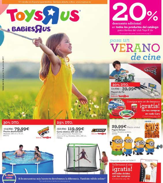 """Ofertas de Toys """"R"""" Us, Pasa un verano de cine"""