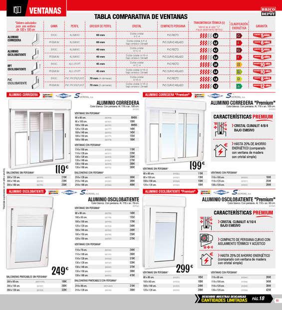 Bricomart Ventanas De Aluminio Precios Perfect Estanterias With