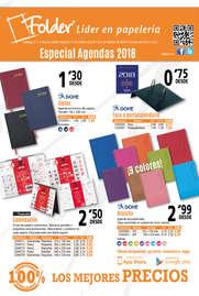 Especial agendas 2018