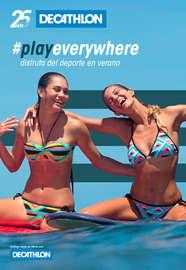 #PlayEverywhere - Disfruta del deporte en Verano