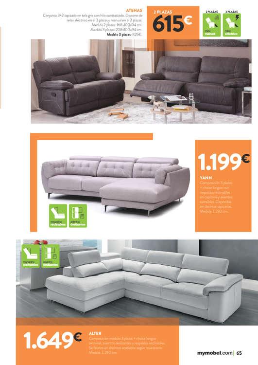 Comprar sof s 3 plazas barato en madrid ofertia for Ofertas sofas madrid