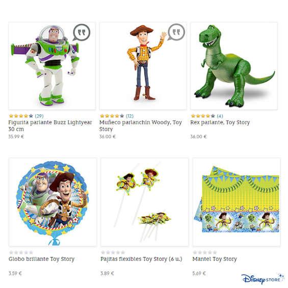 Ofertas de Disney Store, Tus favoritos de Toy Story