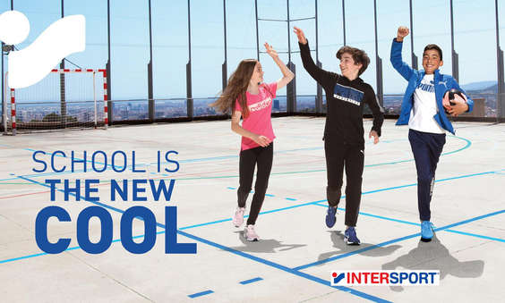 Ofertas de Intersport, School is the new cool