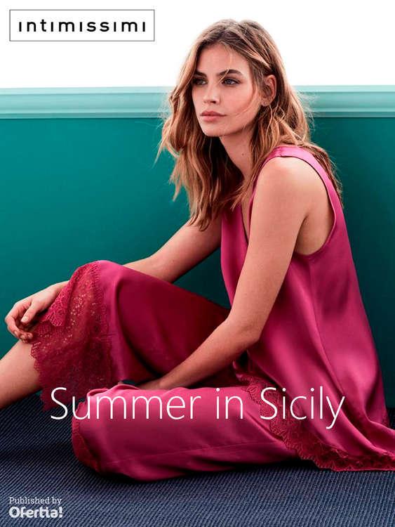 Ofertas de Intimissimi, Summer in Sicily