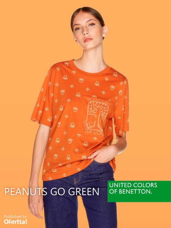 Ofertas de United Colors Of Benetton, Peanuts go green