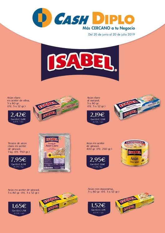 Ofertas de Cash Diplo, Especial ISABEL