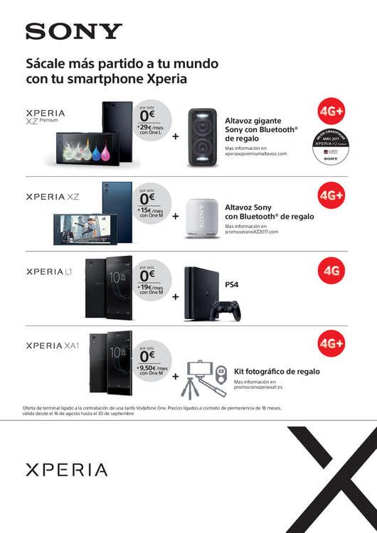 Ofertas de Vodafone, Agosto - Septiembre