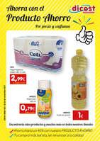 Ofertas de Dicost, Ahorra con el producto ahorro