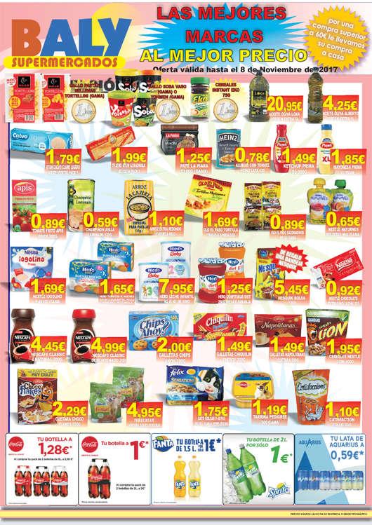 Ofertas de Baly Supermercados, La mejores marcas